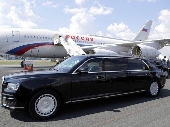 Автомобиль из «кортежа Путина» резко подешевел