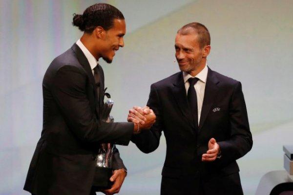 Ван Дейк опередил Месси и Роналду в споре за титул лучшего игрока Европы