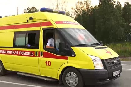 При опрокидывании автобуса в Курганской области пострадали 14 человек