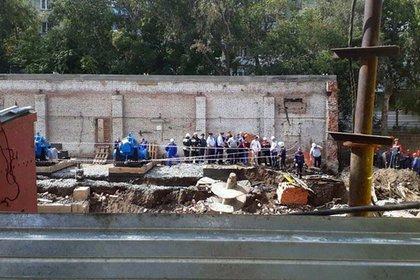 Очевидцы рассказали о тряске домов и криках после обрушения стены в Новосибирске
