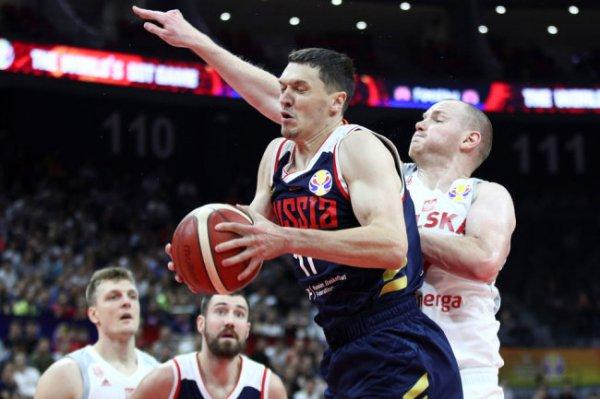 Сборная России по баскетболу проиграла команде Польши на чемпионате мира