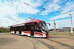 В столице Бурятии начал работу первый трамвай модели 71-911ЕМ «Львёнок» производства ОП «НЗЭТ»