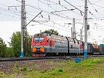 Железная дорога в Красноярске получила электровозы нового поколения