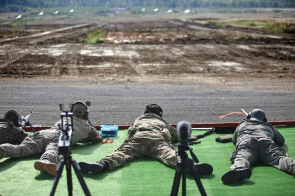 В Екатеринбурге прошли состязания сильнейших снайперов страны