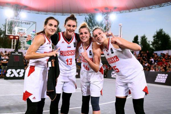 Россиянки выиграли Лигу наций по баскетболу 3х3 среди молодежных команд