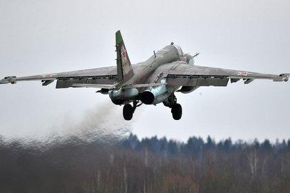 Штурмовик Су-25 разбился на Кавказе