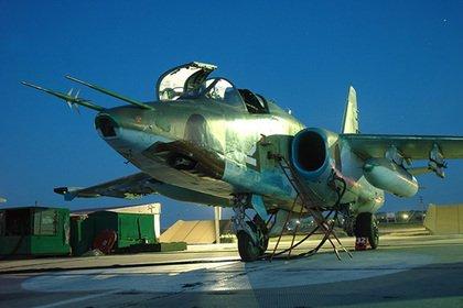 Названа возможная причина крушения Су-25
