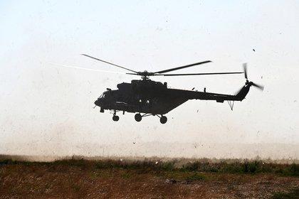 Разбился вертолет Минобороны России