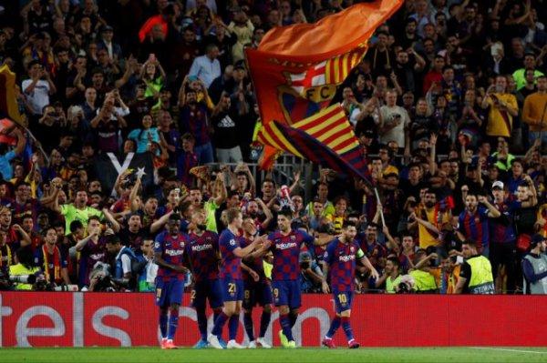 """Дубль Суареса помог """"Барселоне"""" одержать волевую победу над """"Интером"""""""