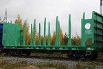 ООО «Архбум» увеличивает свой парк тихвинских вагонов-платформ для леса