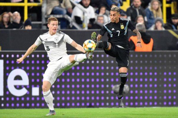 Сборные Германии и Аргентины сыграли вничью