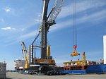 Порт «Бронка» получил возможность по перевалке крупногабаритных грузов массой 500 тонн