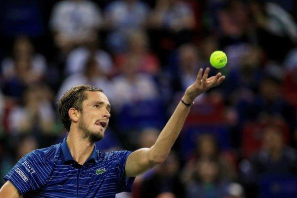 Российский теннисист Даниил Медведев стал четвертой ракеткой мира