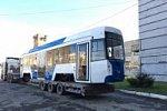 В Евпатории протестируют новейший трамвай