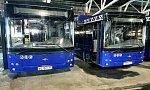В Салехарде появились первые автобусы на газомоторном топлеве