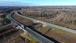 На трассе Р-255 «Сибирь» в Красноярском крае после реконструкции открыли путепровод через Транссиб