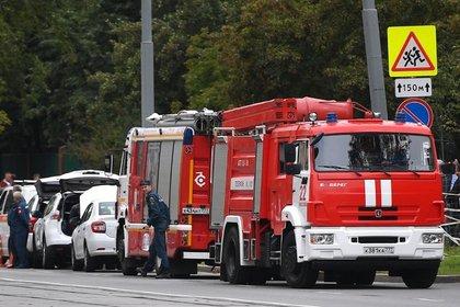 В Подмосковье при пожаре погибли четверо детей и взрослый