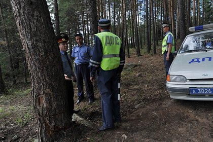 Пьяный россиянин бросил трехлетнего сына в лесу