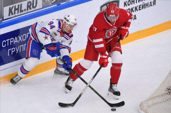 Питерский СКА одержал волевую победу над