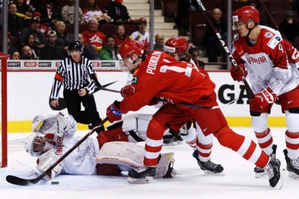 Молодежная сборная РФ по хоккею сыграет с канадцами