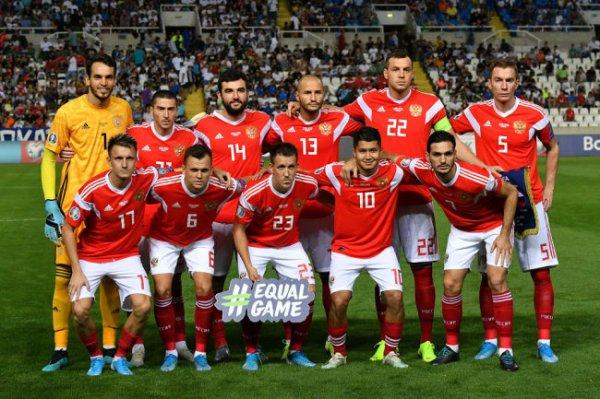 Назван состав сборной России на заключительные матчи отбора ЧЕ-2020