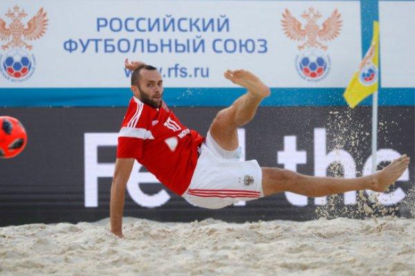 Завершился групповой этап Межконтинентального кубка по пляжному футболу