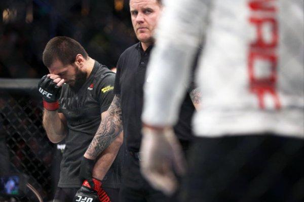 Двоюродный брат Хабиба Нурмагомедова с поражения дебютировал в UFC