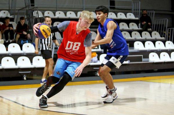 В Москве прошел турнир по баскетболу 3х3