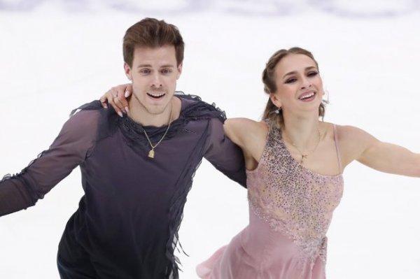 Танцоры Синицына и Кацалапов стали победителями Гран-при в Москве