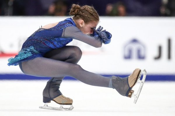 Александра Трусова: Падения не мешают достойно откатать программу