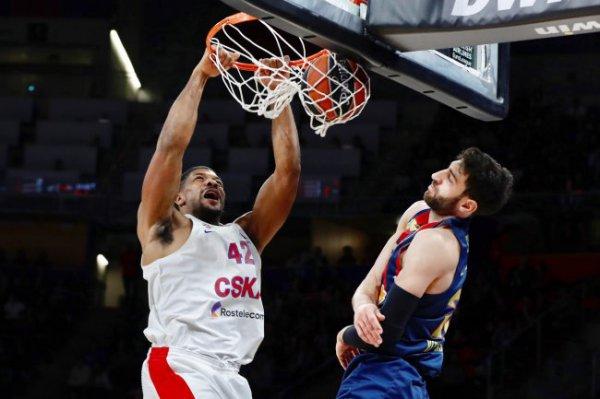 В девятом туре Евролиги ЦСКА не справился с испанской