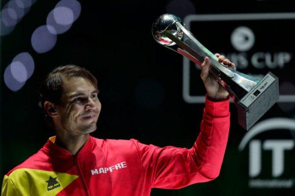 Испанцы во главе с Рафаэлем Надалем выиграли Кубок Дэвиса