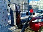 В Благовещенске открыли первую в регионе станцию для зарядки электромобилей