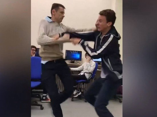В Белгороде учитель информатики подрался с учеником
