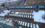 В Брянске вручили ключи от 142 автобусов и 20 автомобилей СМП для районов области