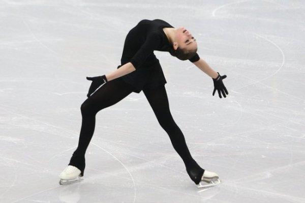 Российские фигуристки провели неоднозначную тренировку перед финалом Гран-при