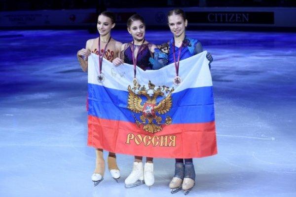 Косторная, Щербакова и Трусова заняли весь пьедестал в финале Гран-при