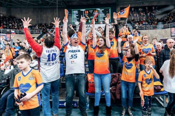 Пермяки установили рекорд посещаемости сезона в Единой лиге
