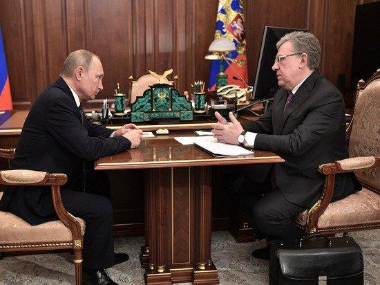 Путин прокомментировал слова Кудрина о рекордном неисполнении расходов бюджета