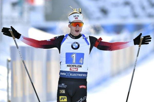 Йоханнес Бё стал победителем масс-старта на этапе Кубка мира во Франции
