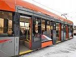 В Челябинск прибыл трамвай производства «УралТрансМаш»