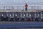 В ЕАО открылась понтонная переправа через Амур в Китай