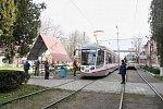 В Краснодаре вышли на маршруты новые трехсекционные трамваи