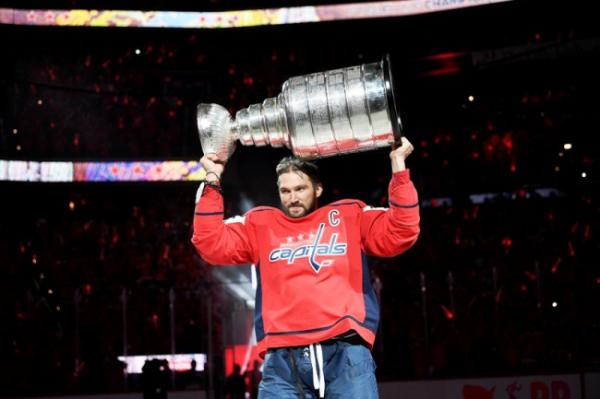 Телеканал признал Овечкина лучшим левым нападающим НХЛ за десятилетие