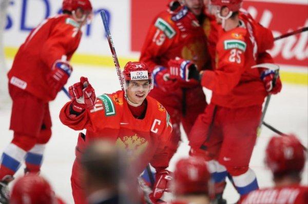США - Россия - онлайн-трансляция матча молодежного ЧМ по хоккею