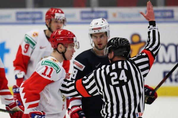 Сборная России проиграла американцам на МЧМ по хоккею