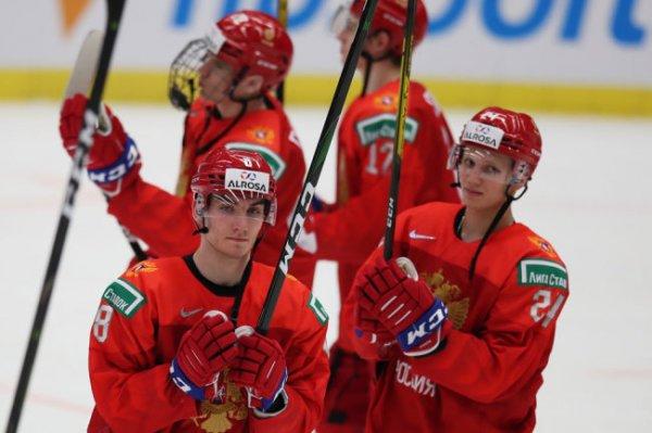 Россия встретится со швейцарцами в 1/4 финала МЧМ по хоккею