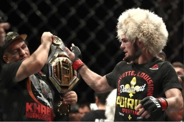 Глава UFC: Фанаты сходят с ума в ожидании боя Хабиба и Фергюсона