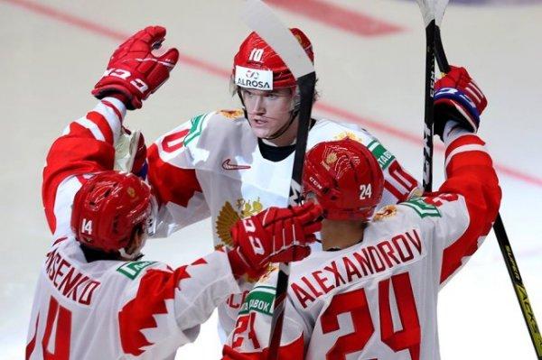 Россия встретится со Швецией в полуфинале молодежного ЧМ по хоккею