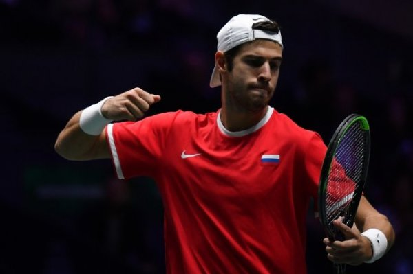 Сборная России по теннису стала лидером своей группы на ATP Cup